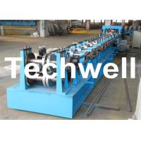 Material Thickness 1.5-2.0mm Cold / Hot Roll Forming Machine For CZ Purlin With PLC Control System