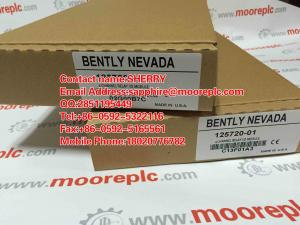 China 【NEVER USED】125768-01 Manufactured by BENTLY NEVADA INTERFACE MODULE RACK on sale