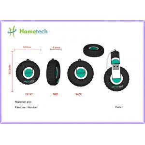 China PVC Tyre Customized USB Flash Drive Pocket 8GB High Speed 2.0 on sale