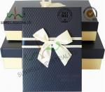 Recycled Multi Colored Retails Handcrafted Gift Boxes Ribbon Bow Decorated Packaging