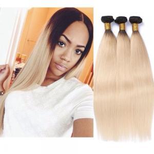 China Brazilian Blonde 1B/613 Straight Hair 100%Human Hair Weaving Remy Hair on sale