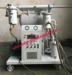 L'épurateur d'huile portatif de transformateur, mini huile isolante réutilisent la machine, installation de fabrication d'huile de câble