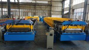 China Australia Style Roller Shutter Door Frame Roll Forming Machine Automatic Control on sale