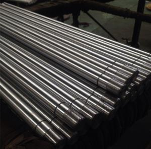 China 機械で造られたシャフト/Threading/Millingはフルーティングを施しましたり/あき、叩かれる軸穴 on sale