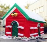 Customized Inflatable Christmas House/ Cottage for Christmas Decoration