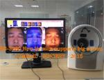 China skin analyzer machine white light uv light polarized light with canon Japan camera wholesale