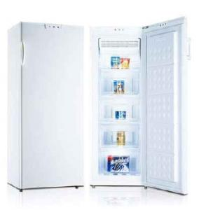China 156L A+ Frost free (no frost freezer) upright freezer single door vertical freezer on sale