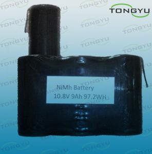 China 10.8V D Nimh Rechargeable Battery Pack , Solar Light 9000mAh Ni-Mh Batteries on sale