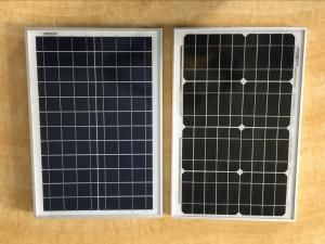 China 20W MONO POLY Solar Panel  , solar module  with steady quality  From Macsun Solar on sale