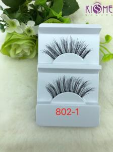 China Hand Made Durable Human Hair Lashes  Non - Irritating Private Label on sale