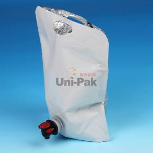 Quality Bibs Reclycled Aluminum Foil Bags With Spout Wine Pouch Beverage Liquid For