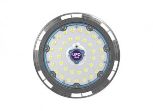 China 100 Watt Round Led High Bay IP65 Meanwell Driver Ufo Led High Bay Light For Workshop on sale