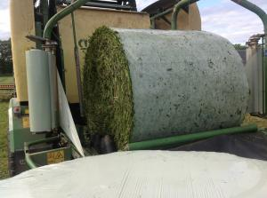 China Bale Wrap Net Replacement Barrier Film Inside Silage Bales on sale