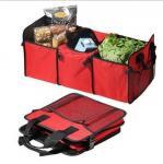 600D oxford &210D polyester Car storage bag