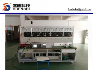 China HS-6103G Single Phase Form 2S/1P3W ANSI SOCKET Meter Test Bench,8 Position,0.05% Class,Max.200A on sale
