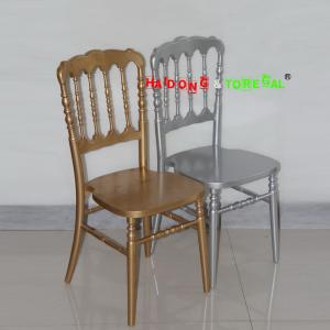 China Wholesale Cheap China Solid Wood Wedding Hotel Wood Napoleon Chair supplier