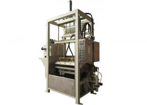 China Paper Pulp Molding Machine , Semi-automatic Industrial Packages Forming Machine on sale