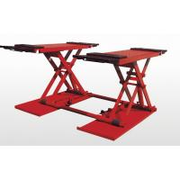 China Electric Removable Hydraulic Auto Lift , Scissor Car Lift For Vechile / Truck on sale