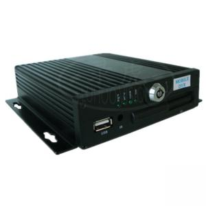 China 4 Channel 3G 4G CCTV Mobile DVR Recording Screen Split With GPS Live Monitoring on sale