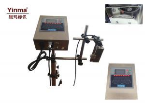 China Yinma Date Lot Batch Code Printer / 16 Dot Matrix Font White Ink Jet Printer on sale