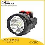 120g light weight miner cap lamp with 2.8Ah  high quality miners construction cordless cap lamp