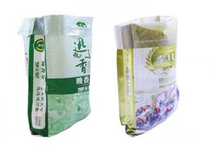 China PP Woven Laminated Animal Feed Bags , Dog Food 15kg Bag Double Stitched on sale