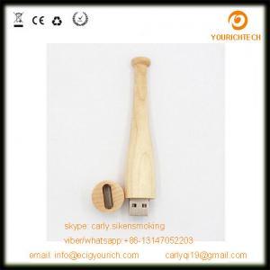 China 8GB Custom Logo stick style Baseball Bat USB Flash Drives on sale