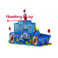 China Soft Indoor Playground Equipment  , Kids Play Pirate Ship Rotational Moulding on sale