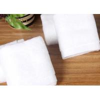 Customized Hotel Face Towel White 100% Organic Cotton Bulk