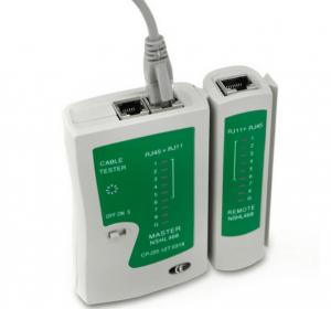 China Rj45 Rj11 Lan Network Telephone Cable Tester Light Weight For Home / Outside on sale