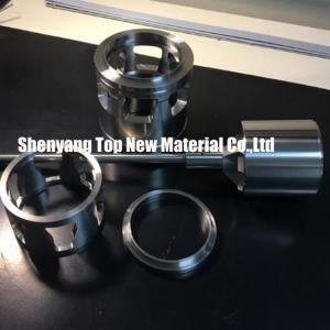 China CNC Machining Fisher Control Valve Seat Parts Inserts Silver And Grey Color on sale
