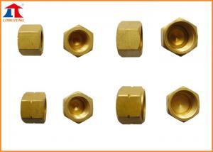 China Copper Choke Plug Pipeline Accessories For CNC Cutting Machine on sale
