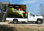 China Commercial P8 Truck Mounted LED Display , LED Billboard Truck Full Color wholesale