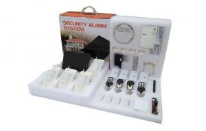China Wireless Burglar Alarm System Kit , Iphone IOS and Android Application GSM Alarm Systems on sale