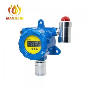 China 3 LED Lights Stationary Fixed Gas Detector Gas Transmitter 1 Year Warranty on sale