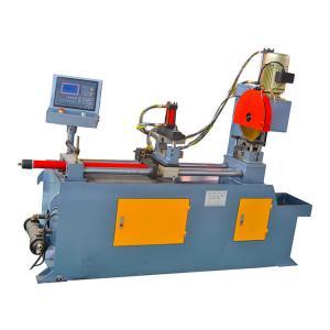 China Automatic Servo Feeding Hydraulic Pipe Cutting Machine Without Tail Material on sale