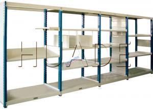 China Medium Duty Long Span Shelving Boltless Storage Rack For Boxes / Cartons / Bins Storage on sale