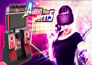 China High Immersive Virtual Reality Dance 42 Inch HD Screen For Arcade / Malls on sale