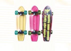 China Children 17 Inch Plastic Fish Penny Skateboard Professional Skateboarding Equipment on sale