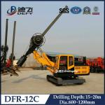China Manufacturer of Hydraulic Piling Machines DFR-12C for Sale