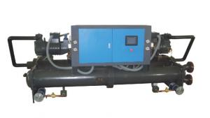 China Injection Molding Water Cooled Screw Chiller / Screw Compressor Chiller on sale
