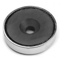 China Ferrite Magnet Pot with Countersunk Hole on sale