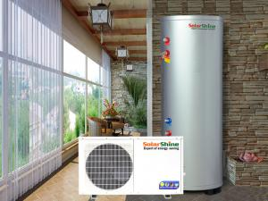 China Family House All In One Heat Pump Water Heater , Air Source Water Heater on sale
