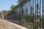 2400mm (W)*1800mm (H) home & garden  decorative steel fence/ iron fence/ fence