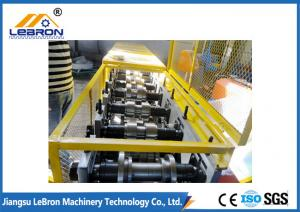 China Smooth Straight Door Frame Roll Forming Machine , Cold Roll Forming Equipment on sale