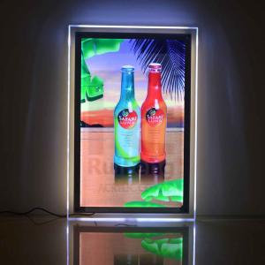 China Slim Acrylic Light Boxes, LED Poster Frame on sale
