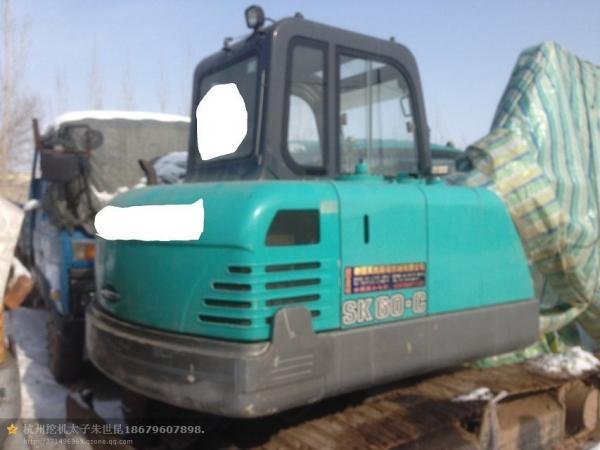 sk60 used kobelco japan excavator Myanmar Malaysia for sale