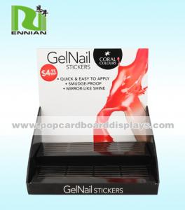 China Environmentally Protection Cardboard Counter Displays Nail Polish For Promotion on sale