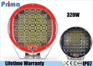China Round 9 Inch Driving Lights , 320W Shatterproof Led Off Road Lights on sale