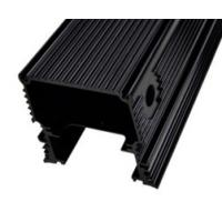 China Black Anodized Aluminum Extrusions For Electronics / Electrical Cover / Electronic Enclosure on sale